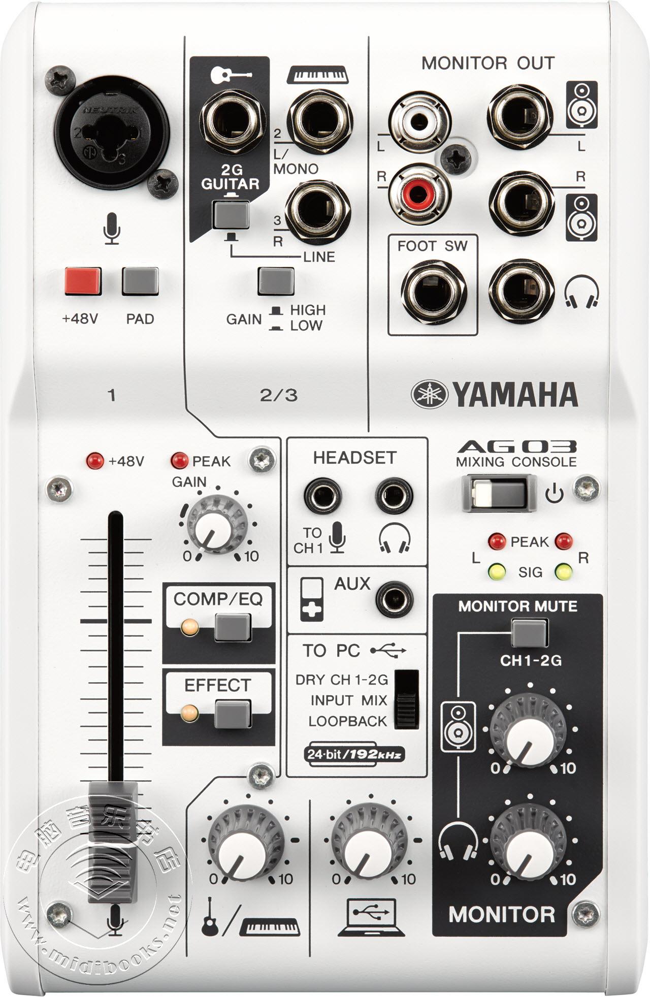 [NAMM2015]YAMAHA(雅马哈)发布AG系列混合调音台(视频)
