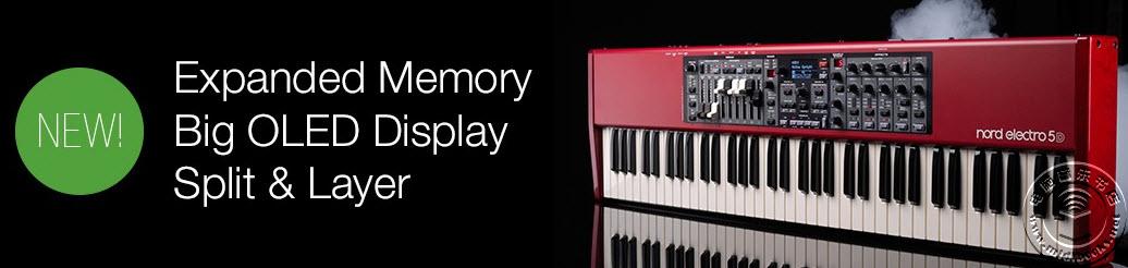 [NAMM2015]全新Nord Electro 5 系列现场键盘即将上市(视频)
