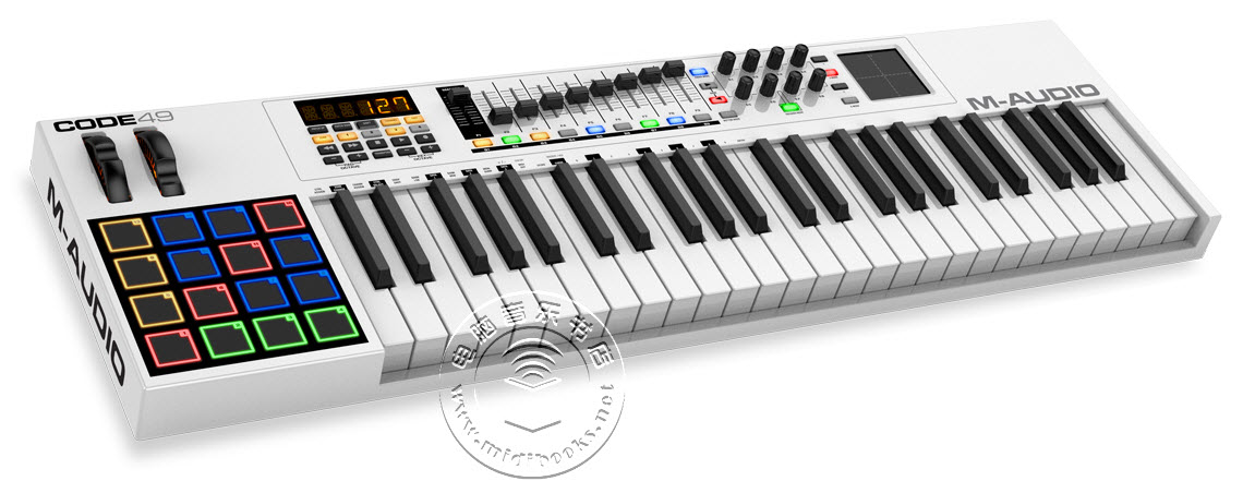 [NAMM2015]M-Audio发布Code系列MIDI键盘控制器,整合DAW(视频)
