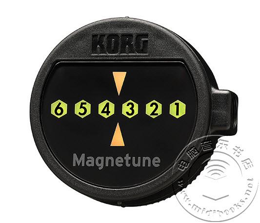 [NAMM2015]Korg 首次推出吉他磁力调谐器 Magnetune(视频)