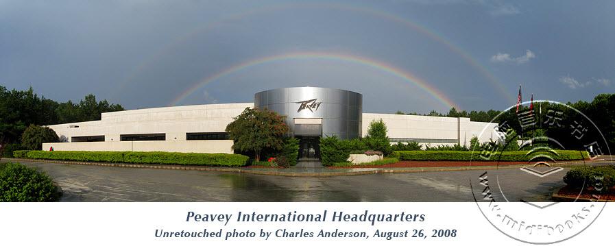 美国百威音响公司(Peavey Electronics)简介