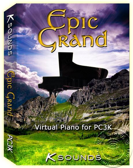 可用于Kurzweil PC3K合成器的Epic Grand(史诗级大钢琴)音色库