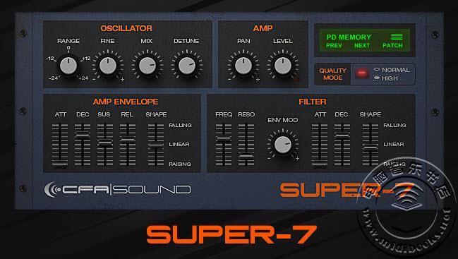 Roland JP8000合成器 Supersaw 音色模拟插件免费下载