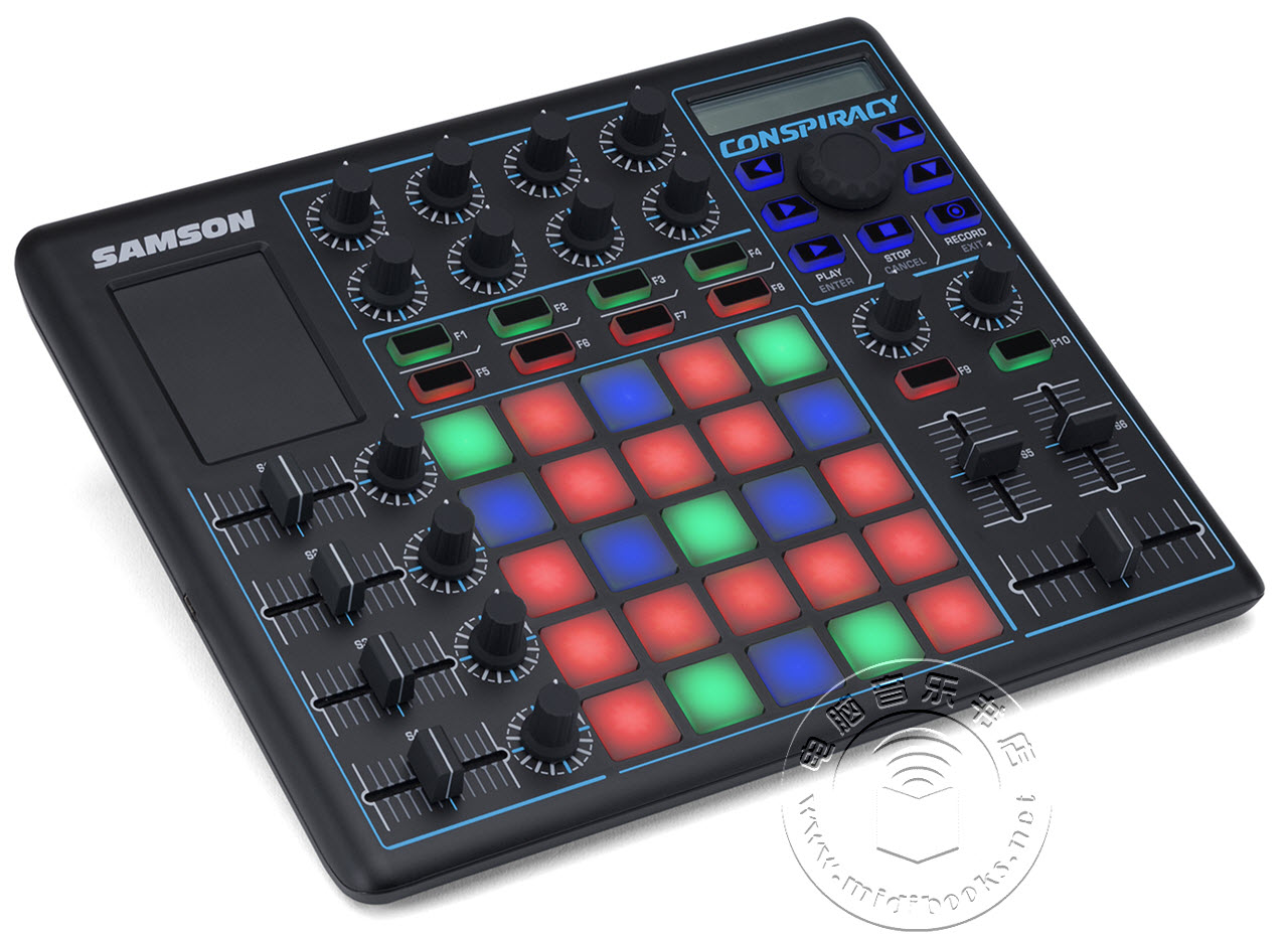 Samson(山逊)发布Conspiracy(密谋)USB MIDI控制器(视频)