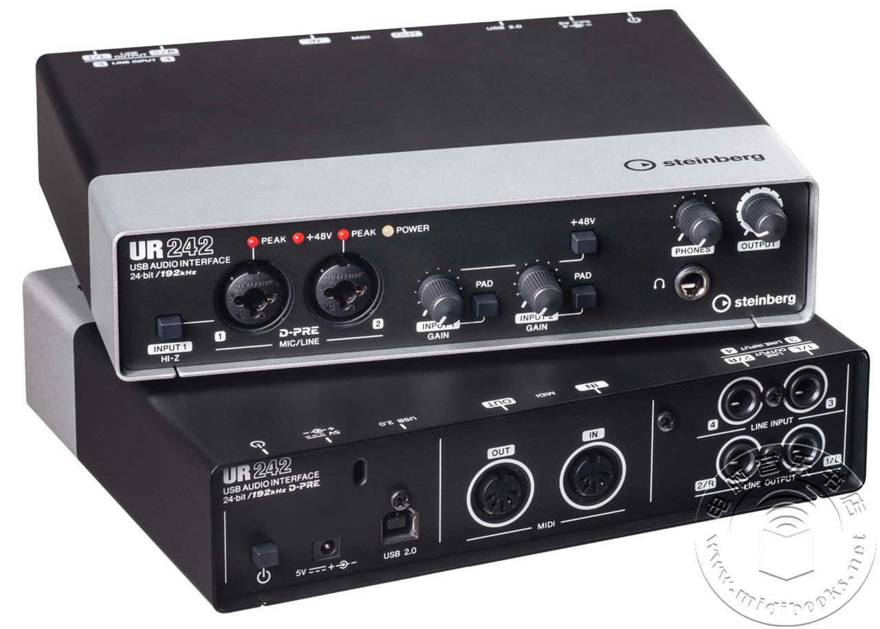 Steinberg 发布 UR242 跨界音频接口(视频)
