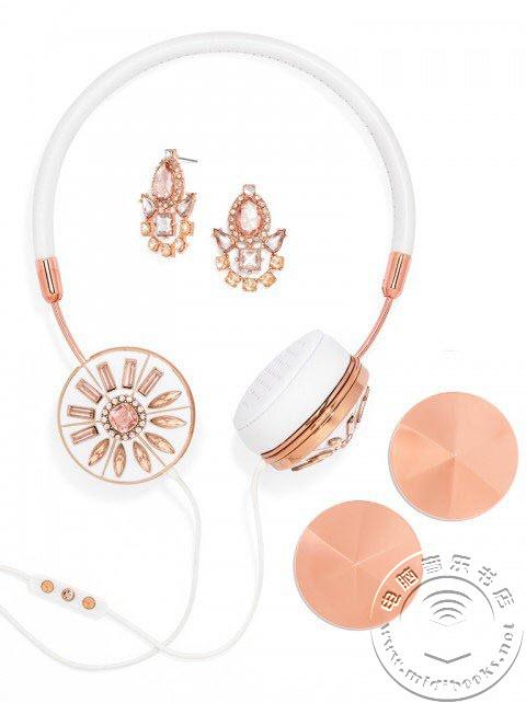 耳机也走奢华风,看D&G价值8000美元的时装耳机