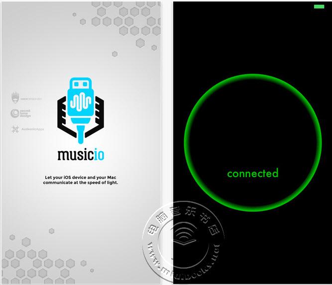 Music IO,一款可以在iOS设备上实现USB-MIDI功能的应用软件(视频)
