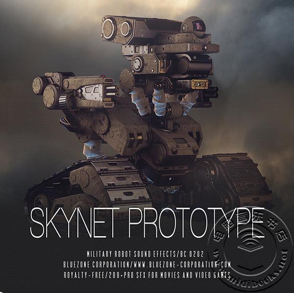 终结者归来—Bluezone发布天网原声音效库Skynet Prototype