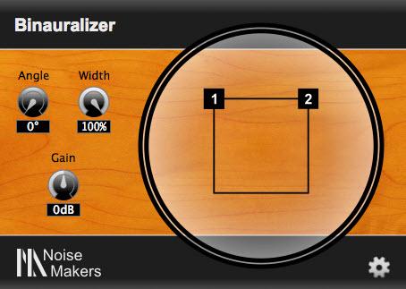 Noise Makers 发布声音空间控制插件 Binauralizer (视频)