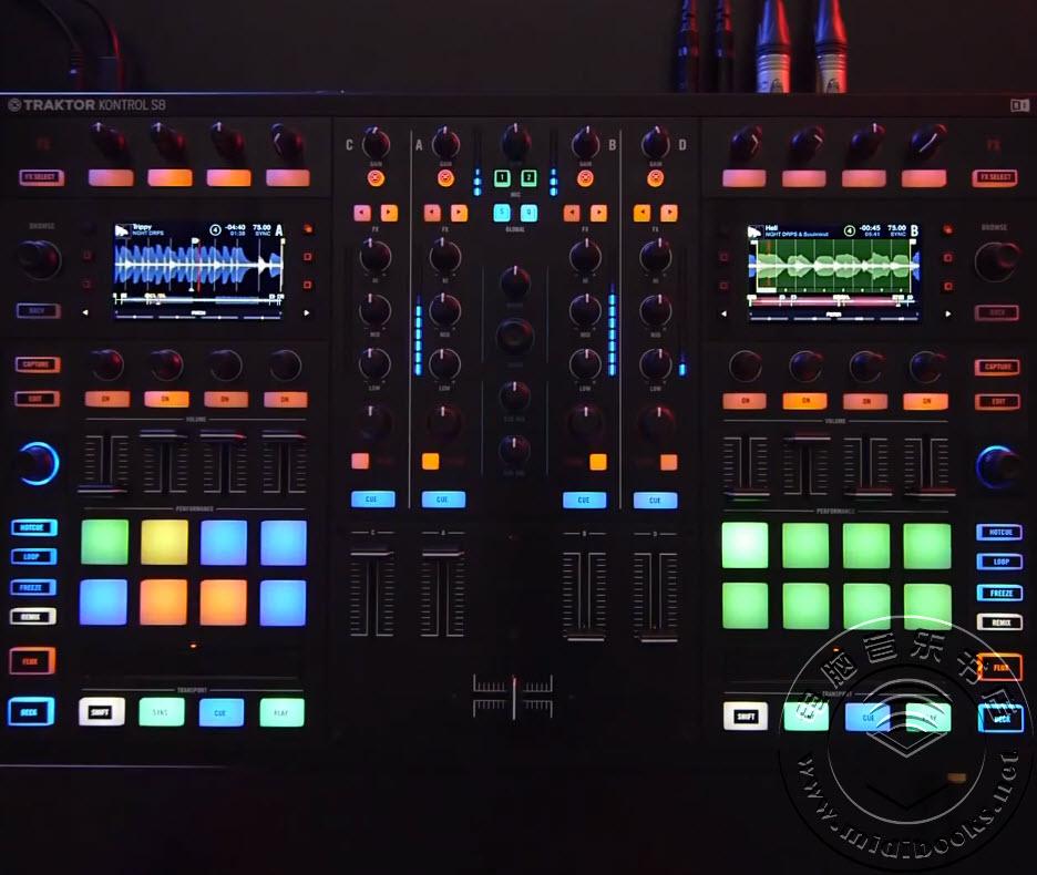 Native Instruments的最新DJ MIDI控制器Traktor Kontrol D2谍照透露