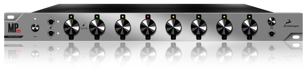 [Musikmesse 2015] Antelope Audio(羚羊音频)发布 MP8D 麦克风前置放大器