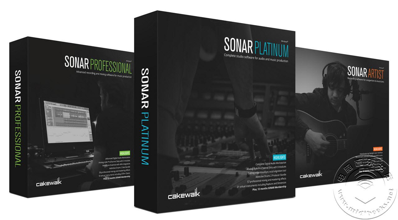 Cakewalk发布Sonar最新版Foxboro