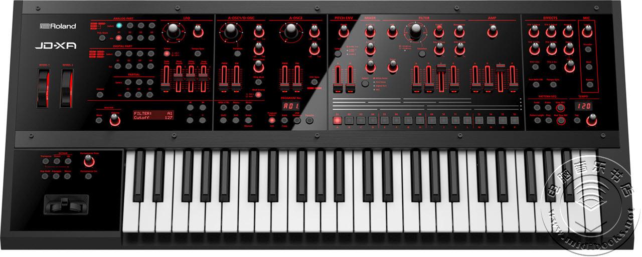 [Musikmesse 2015] Roland(罗兰)发布 JD-XA 混合合成器(视频)