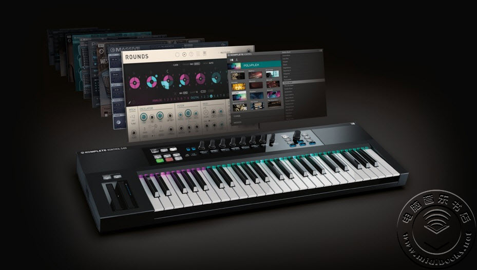 [Musikmesse 2015] NI 宣布 Komplete 系列键盘的未来发展