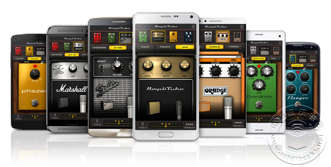 IK发布AmpliTube UA,可用于所有Android设备