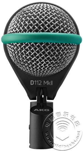[Musikmesse 2015] AKG 发布 D112 mkII 底鼓麦克风