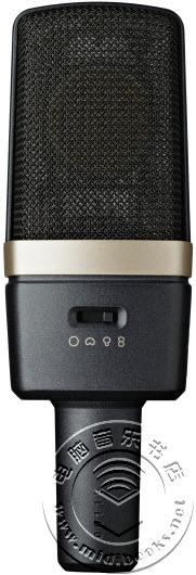[Musikmesse 2015] AKG 发布 C314 电容话筒