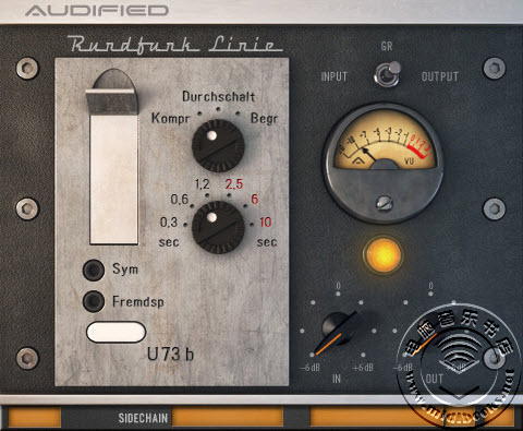 Audified 发布 u73b 压缩器插件