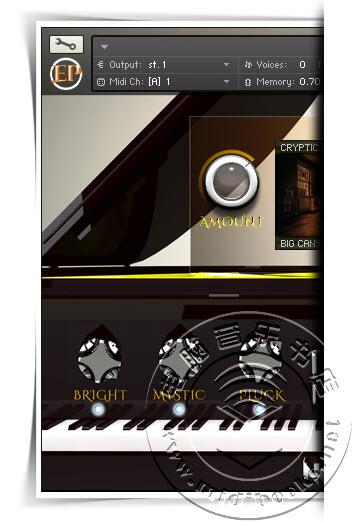 Kontakt 上使用的 YAMAHA C3 三角大钢琴采样音色库