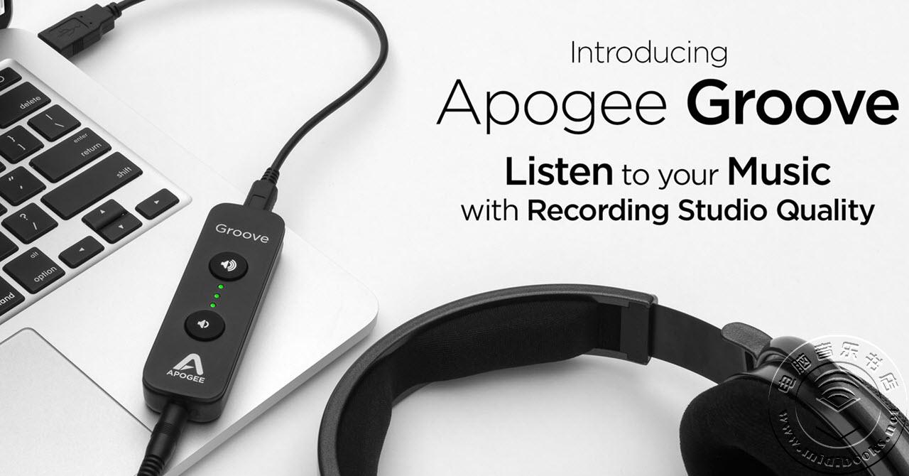 Apogee发布Groove,紧凑型数模转换器