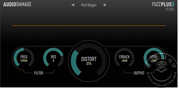 Audio Damage 的免费失真插件 FuzzPlus3 下载