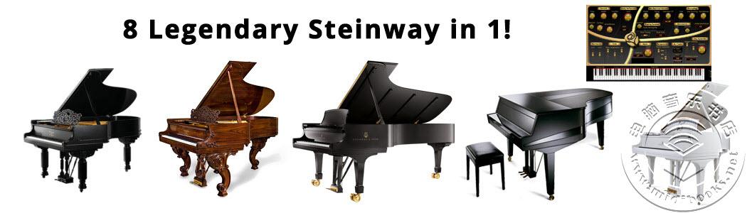 Sound Magic发布Mega Steinway合集,囊括历史上著名的8台斯坦威(Steinway)钢琴