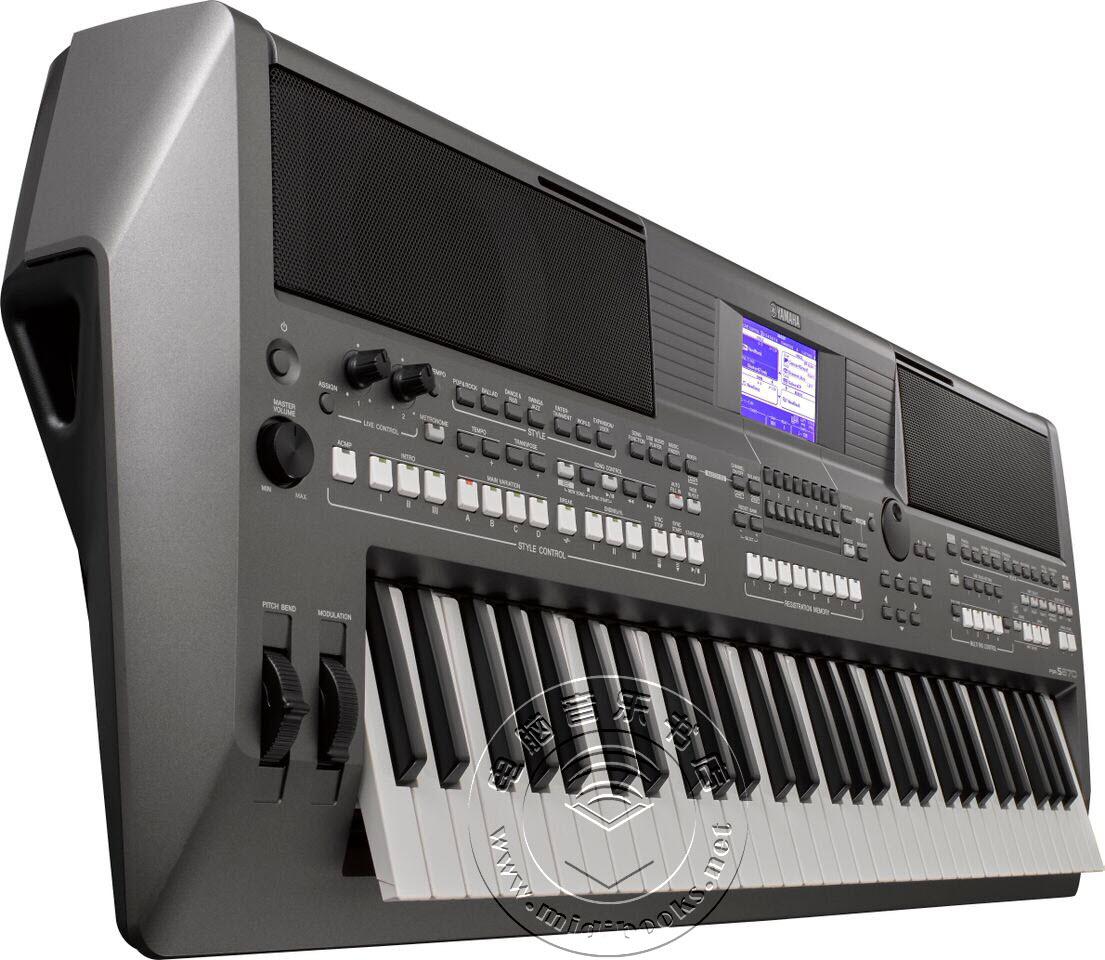 [SNAMM2015]YAMAHA(雅马哈)发布三款全新PSR系列编曲键盘(视频)