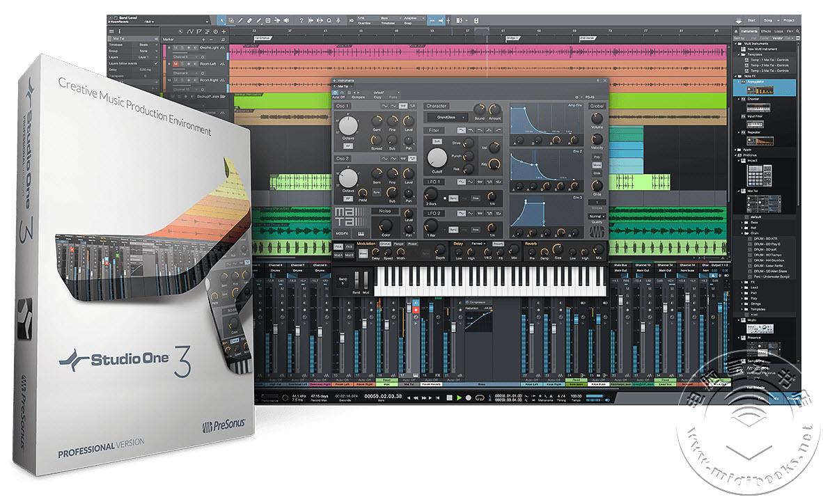 PreSonus发布免费的DAW软件Studio One 3 Prime