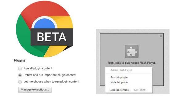 Google Chrome浏览器9月1日起将自动停播Flash