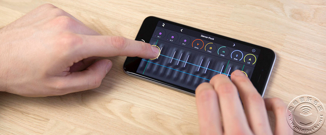 ROLI NOISE,可用在手机上的虚拟Seaboard键盘