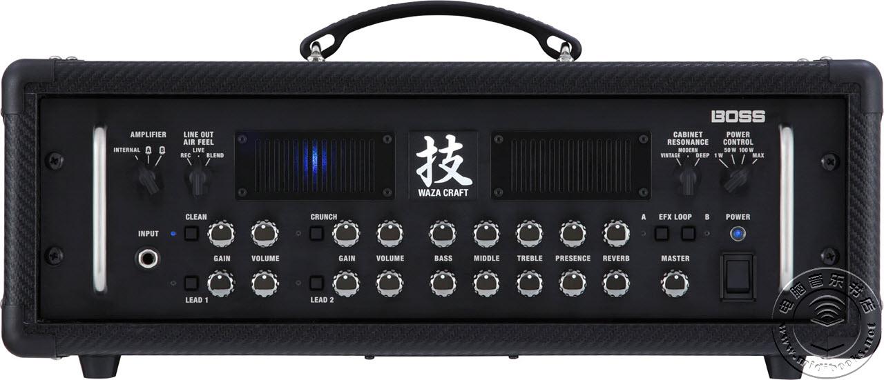 s发布Waza吉他音箱放大器头及箱体图片