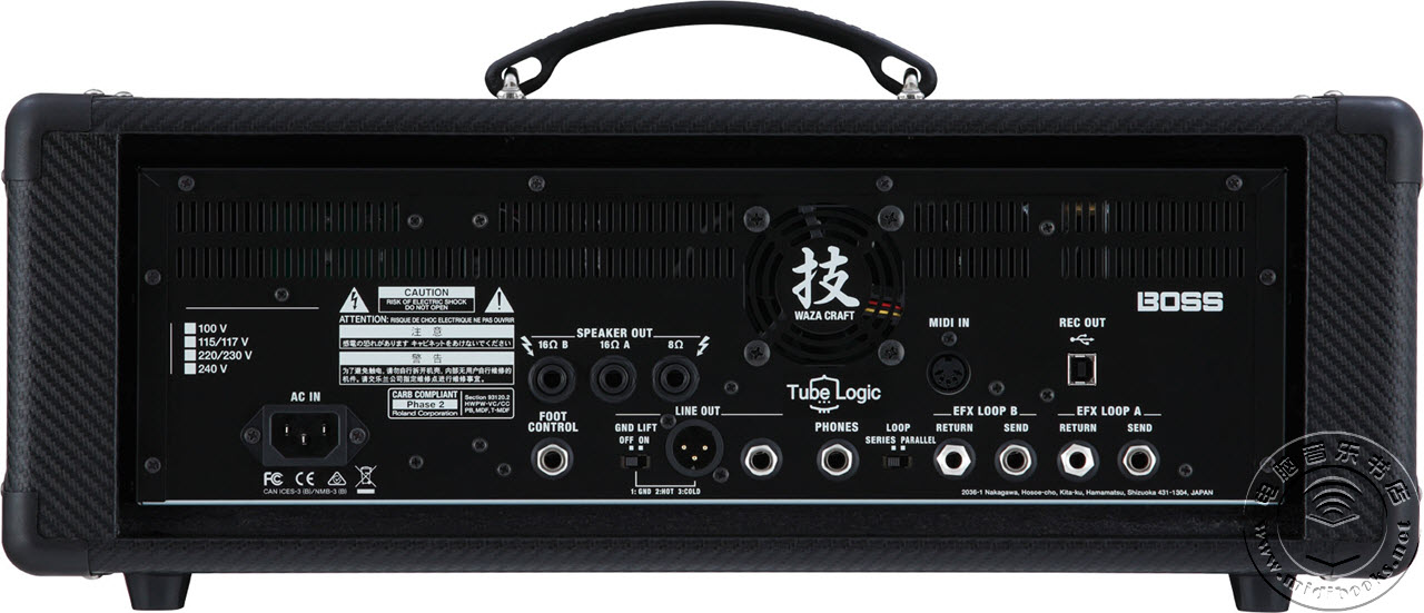 [NAMM2016]Boss发布Waza吉他音箱放大器头及箱体