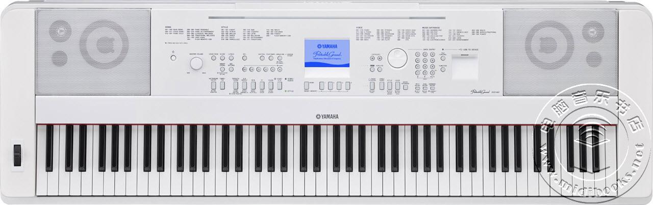 [NAMM2016]YAMAHA(雅马哈)发布DGX-660便携式电钢琴(视频)