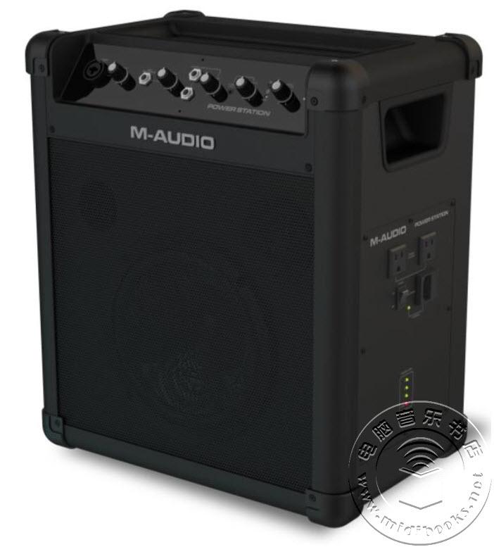 [NAMM2016]M-Audio推出Power Station便携式扩声音箱