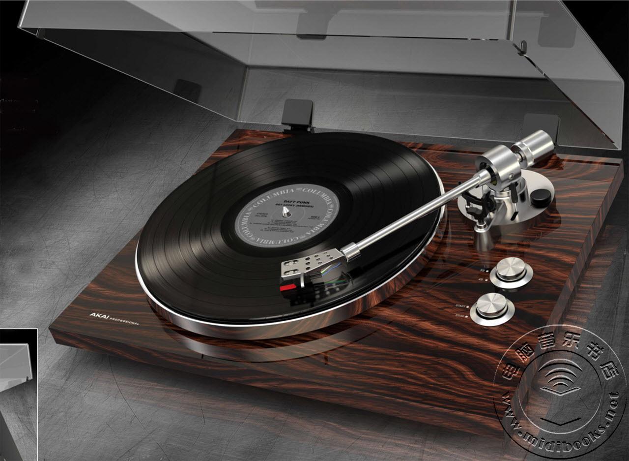 [NAMM2016]Akai发布BT100和BT500唱盘机