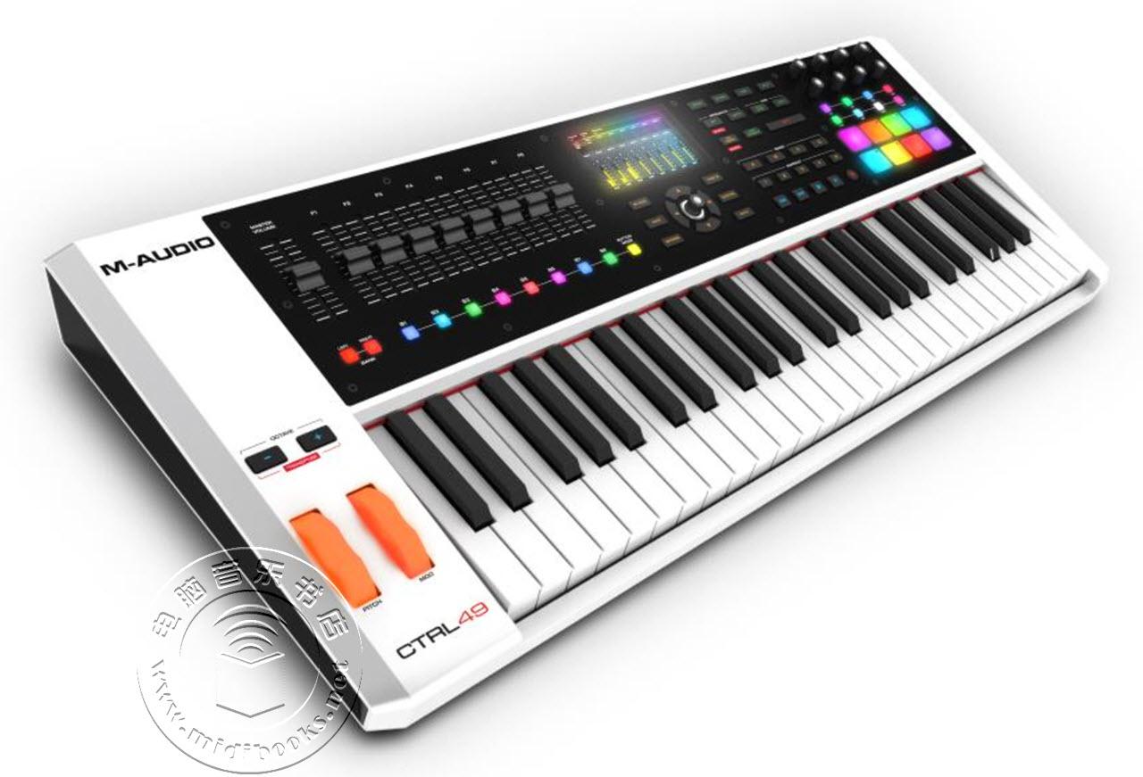 [NAMM2016]M-Audio发布CTRL 49 MIDI控制器(视频)