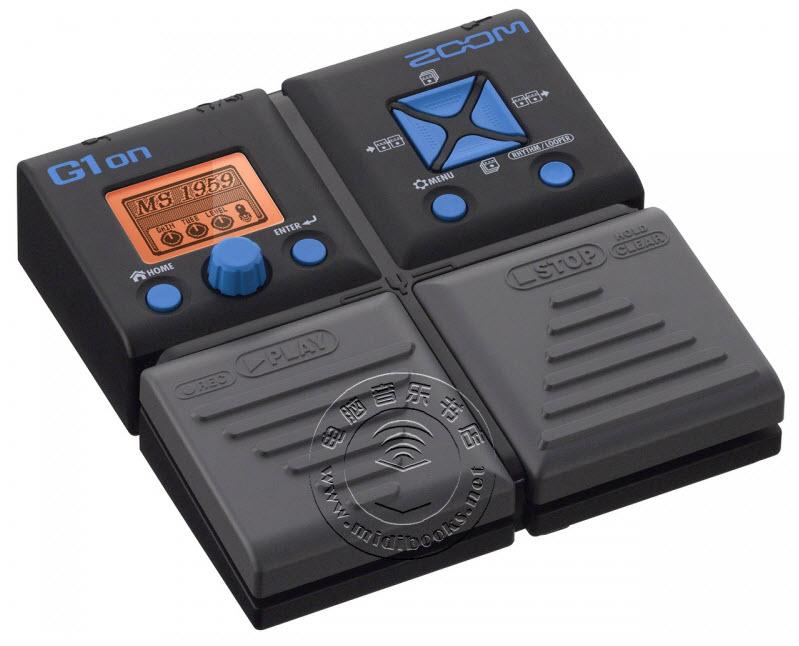 Zoom G1on(G1Xon)吉他效果器中文说明书(免费)