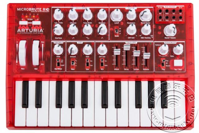 Arturia发布限量珍藏版红色合成器