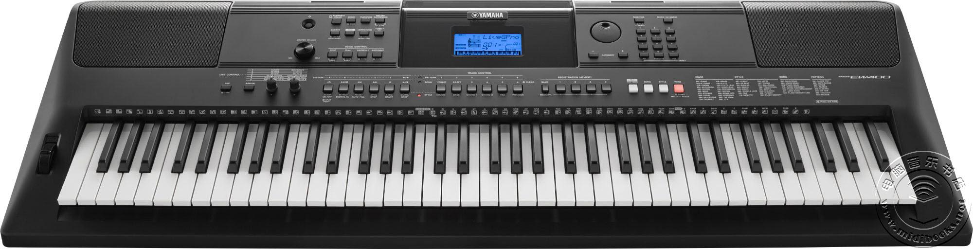 [SNAMM2016] YAMAHA 发布 PSR-E453 和 PSR-EW400 便携式键盘