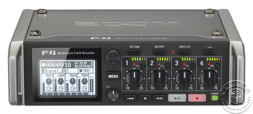 Zoom 发布 F4 多轨外景录音机(视频)