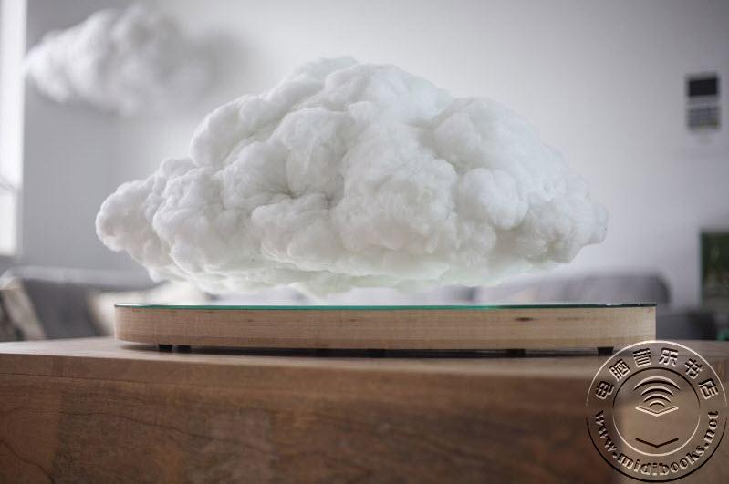 """磁悬浮蓝牙音箱带来真正的""""云""""音乐"""