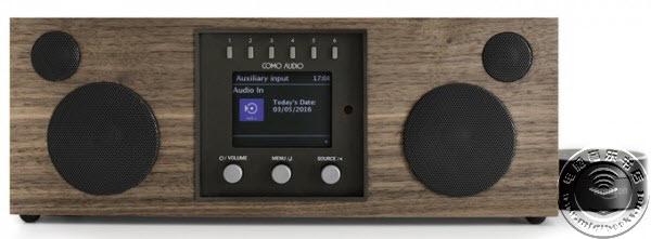 Como Audio推经典造型实木无线音箱Solo和Duetto