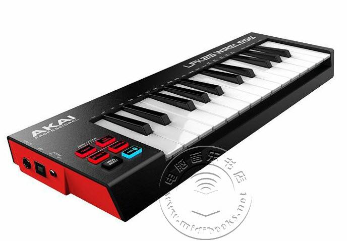 Akai发布L系列MIDI控制器无线蓝牙版(视频)