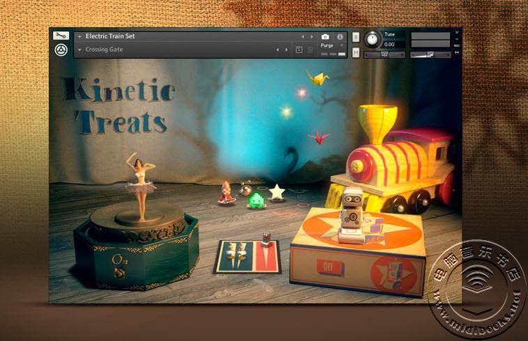 圣诞礼物 — Native Instruments发布免费的KINETIC TREATS音色库