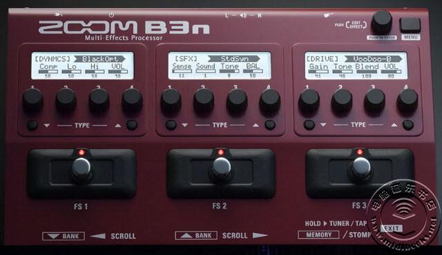 NAMM 2017:Zoom发布多重效果器踏板B3n