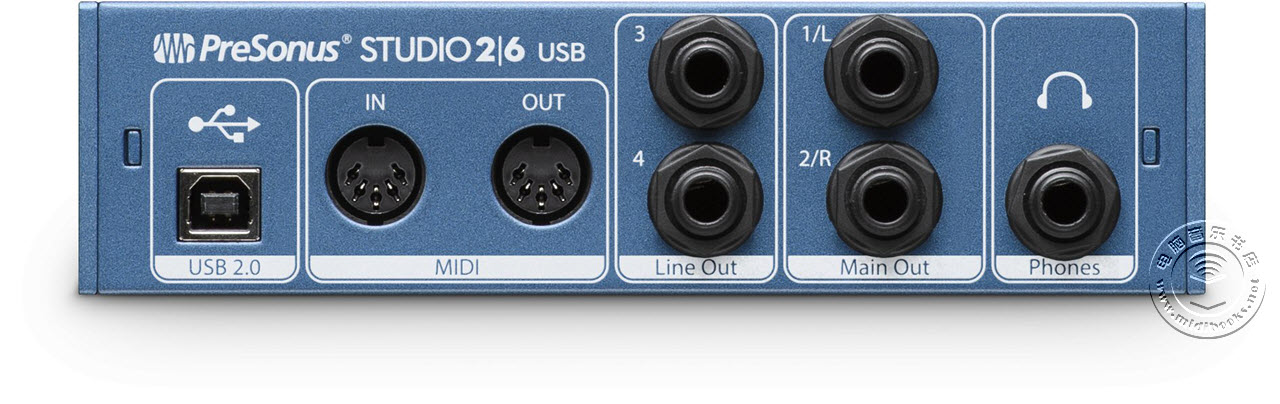 NAMM 2017:Presonus 发布 Studio 26和28 音频接口