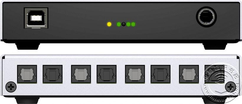 RME 发布小巧而实用的 Digiface USB ADAT / SPDIF 光纤盒音频接口