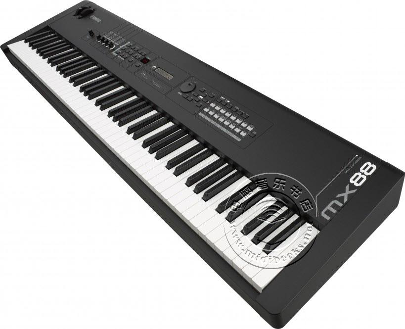 Yamaha 发布带真实钢琴感觉的 MX88 合成器