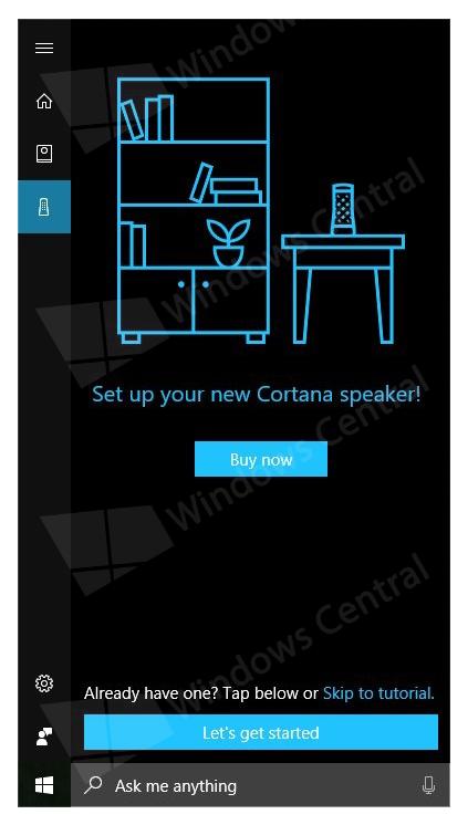 微软或授权第三方制造Cortana智能扬声器:与亚马逊Echo直接竞争