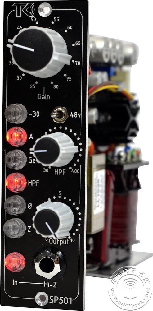 TK音频(TK Audio)发布500系列A类放大器